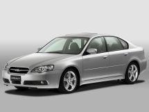 Subaru Legacy 2003, седан, 4 поколение, BL