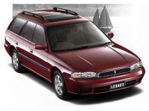 Subaru Legacy рестайлинг 1996, универсал, 2 поколение, BG