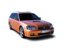 Subaru Legacy рестайлинг, 3 поколение, 05.2001 - 04.2003, Универсал