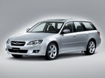 Subaru Legacy рестайлинг 2006, универсал, 4 поколение, BP