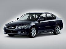 Subaru Legacy рестайлинг 2006, седан, 4 поколение, BL