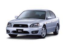 Subaru Legacy B4 рестайлинг, 3 поколение, 05.2001 - 04.2003, Седан