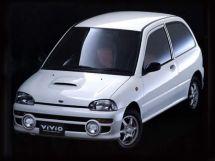Subaru Vivio 1992, хэтчбек 3 дв., 1 поколение, KK