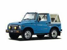 Suzuki Jimny 2-й рестайлинг 1990, открытый кузов, 2 поколение