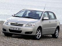 Toyota Corolla рестайлинг, 9 поколение, 05.2004 - 02.2007, Хэтчбек 5 дв.