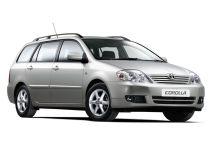 Toyota Corolla рестайлинг, 9 поколение, 05.2004 - 02.2007, Универсал