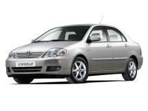 Toyota Corolla рестайлинг, 9 поколение, 05.2004 - 02.2007, Седан