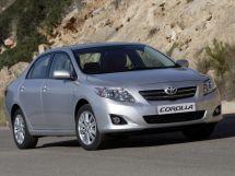 Toyota Corolla 10 поколение, 11.2006 - 06.2010, Седан