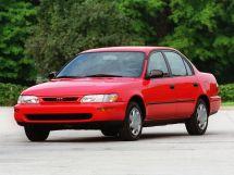 Toyota Corolla рестайлинг 1995, седан, 7 поколение, E100