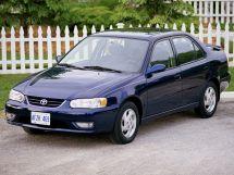 Toyota Corolla рестайлинг, 8 поколение, 01.1999 - 11.2001, Седан