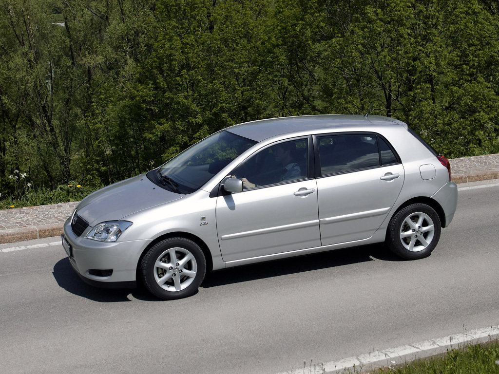 технические характеристики тойота королла филдер 2003