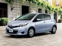 Toyota Vitz 3 поколение, 12.2010 - 03.2014, Хэтчбек 5 дв.