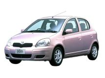 Toyota Vitz рестайлинг 2001, хэтчбек 5 дв., 1 поколение, XP10