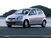 Toyota Vitz 1999, хэтчбек 5 дв., 1 поколение, XP10