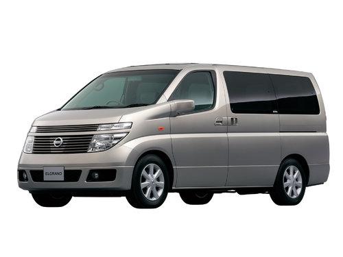 Nissan Elgrand 2002 - 2004