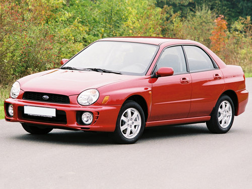 Subaru Impreza 2000 - 2002