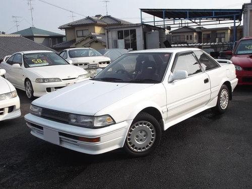 Toyota Corolla Levin 1987 - 1989