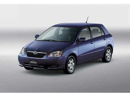 Toyota Corolla Runx 2002 - 2004