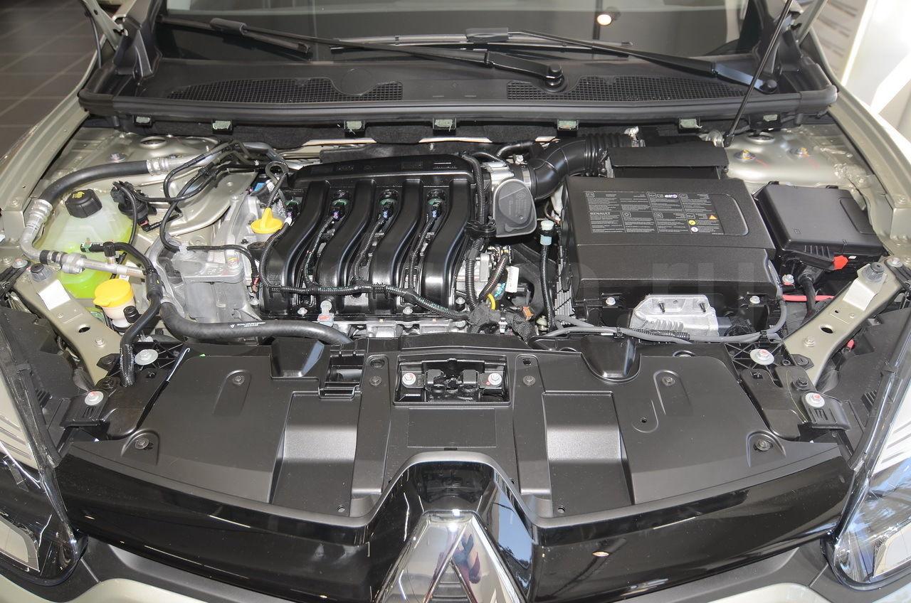 Двигатель K4M технические характеристики  Renault K4M