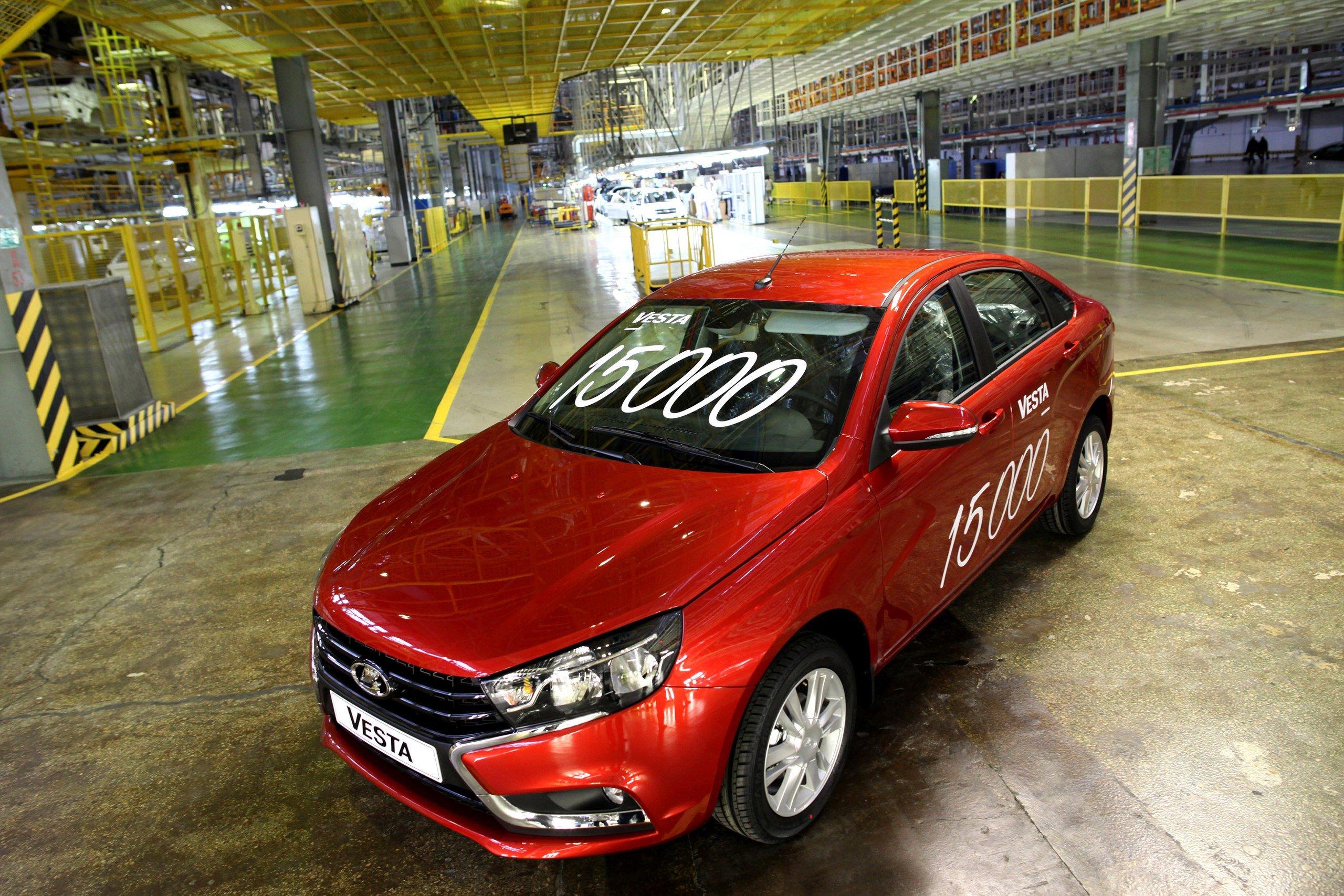 В январе АвтоВАЗ продал почти 30 тысяч Lada