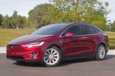 Первый тест-драйв Tesla Model X P90D