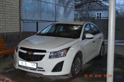 Chevrolet Cruze 2015 - отзыв владельца