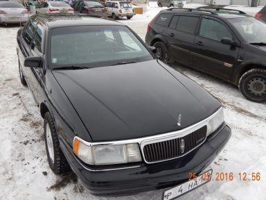 Lincoln Continental 1993 отзыв автора | Дата публикации 11.03.2016.