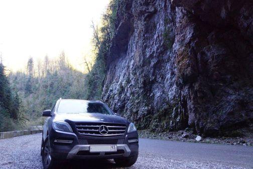 Mercedes-Benz M-Class 2012 - отзыв владельца