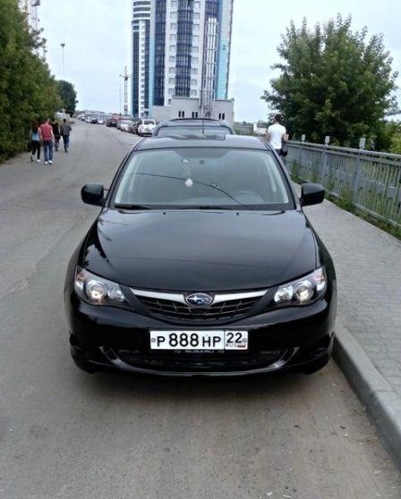 Subaru Impreza 2007 - отзыв владельца