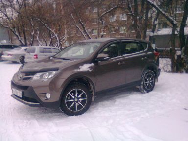 Toyota RAV4 2013 отзыв автора | Дата публикации 18.03.2016.