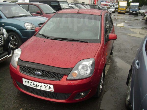 Ford Fiesta, 2007 год, 258 000 руб.