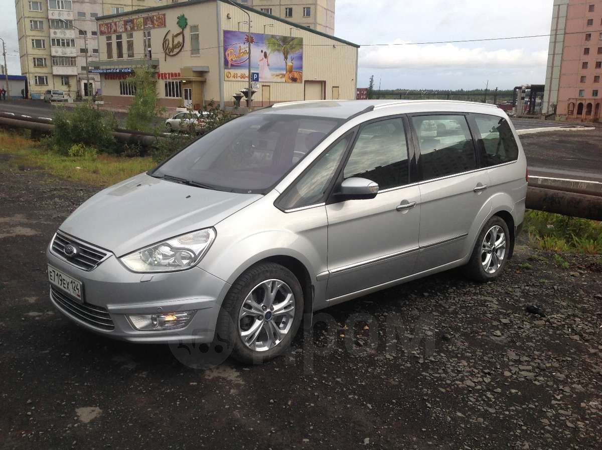 ford galaxy 2012 года