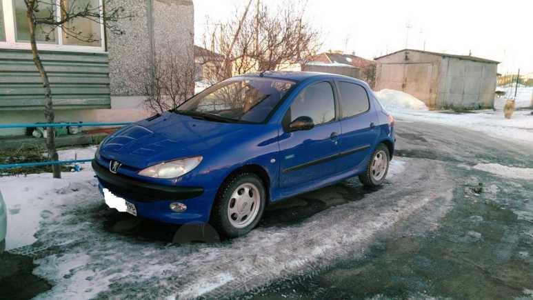 Peugeot 206, 2002 год, 150 000 руб.