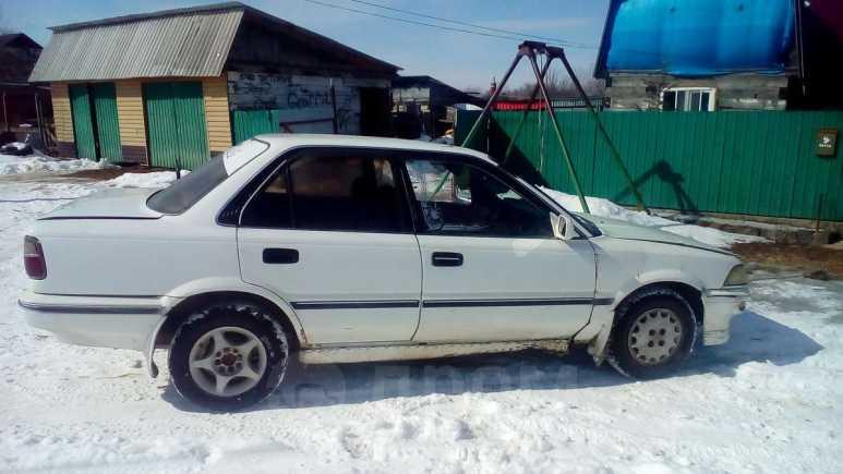 Toyota Corolla, 1989 год, 30 000 руб.