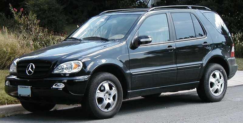 Mercedes-Benz M-Class, 2001 год, 400 000 руб.
