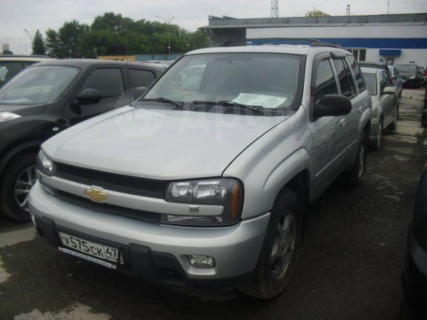 Chevrolet TrailBlazer, 2008 год, 550 000 руб.