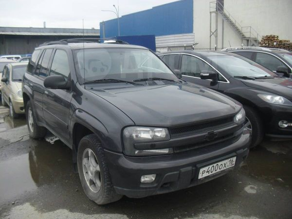 Chevrolet TrailBlazer, 2007 год, 575 000 руб.