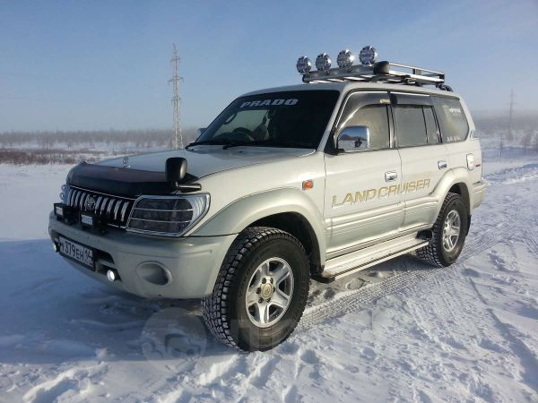 Toyota Land Cruiser Prado, 1998 год, 870 000 руб.