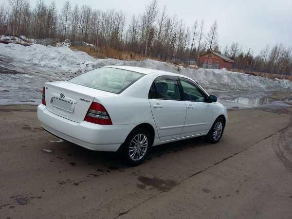 Toyota Corolla, 2003 год, 342 000 руб.