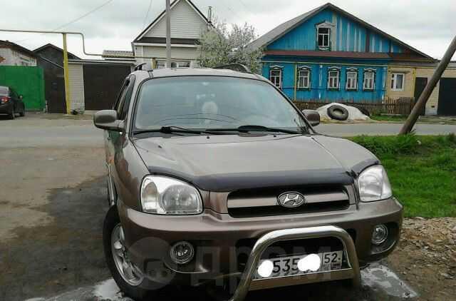Hyundai Santa Fe, 2005 год, 530 000 руб.