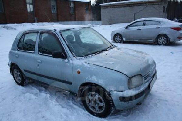 Nissan March, 1996 год, 90 000 руб.