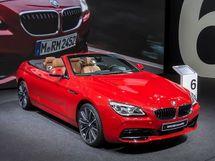 BMW M6 рестайлинг 2015, открытый кузов, 3 поколение, F12