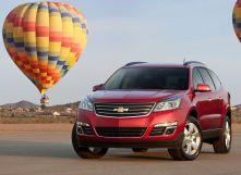 Chevrolet Traverse рестайлинг 2012, джип/suv 5 дв., 1 поколение