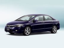 Honda Civic рестайлинг 2008, седан, 8 поколение, FD