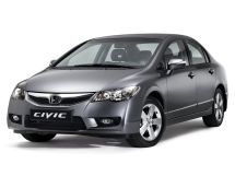 Honda Civic рестайлинг 2009, седан, 8 поколение, FD