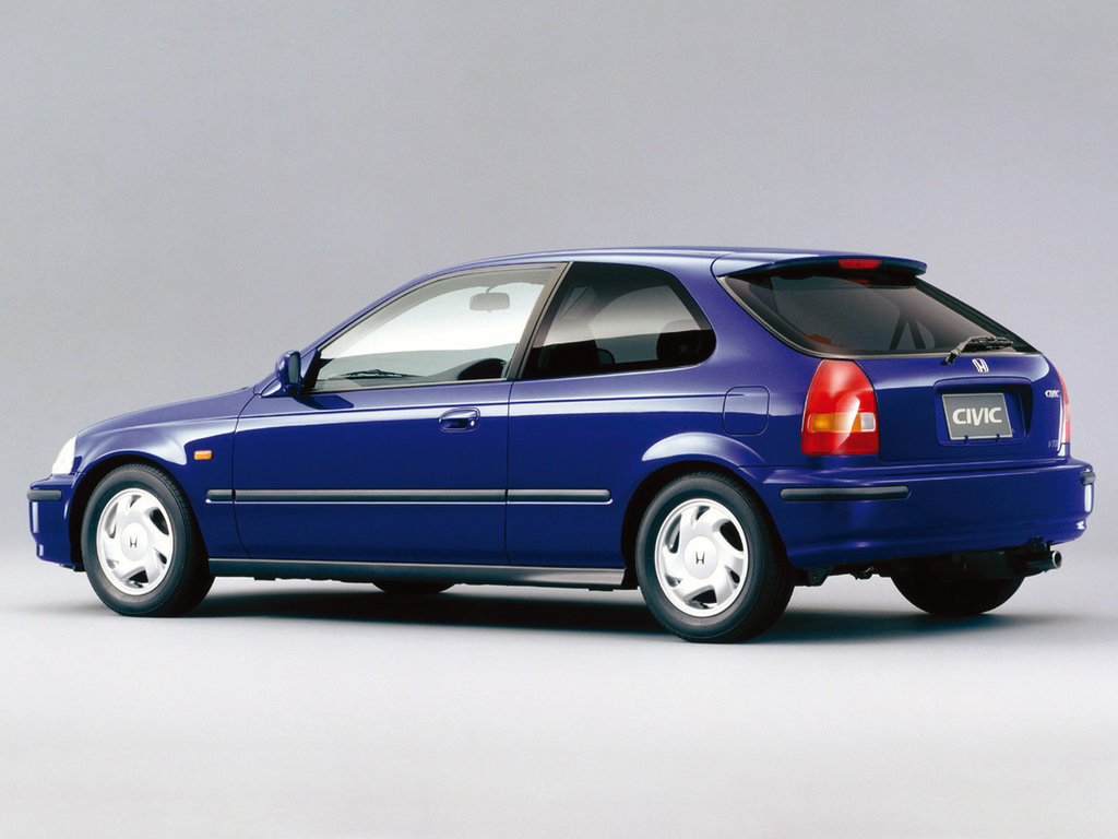 honda civic coupe 6 поколение