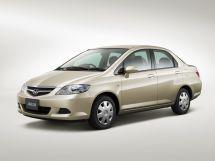 Honda Fit Aria рестайлинг, 1 поколение, 10.2005 - 01.2009, Седан