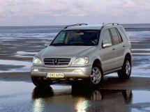 Mercedes-Benz M-Class рестайлинг, 1 поколение, 09.2001 - 03.2005, Джип/SUV 5 дв.
