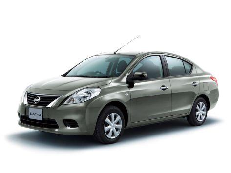 Nissan Latio (N17) 10.2012 - 09.2014