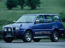 Nissan Mistral 1994, джип/suv 5 дв., 1 поколение, R20